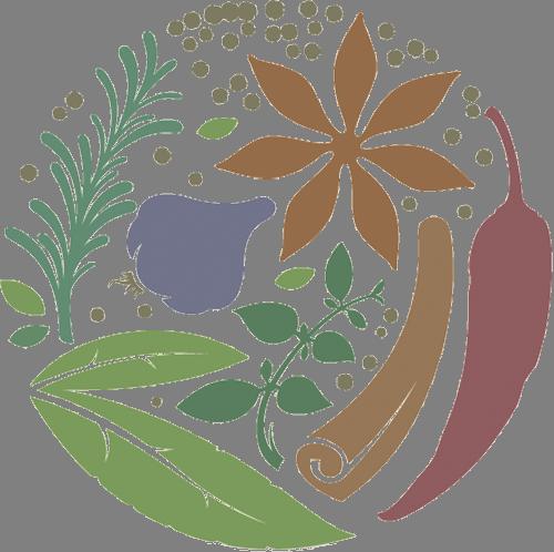 Наклейка «Зелень и овощи»Для кухни, столовой<br><br>