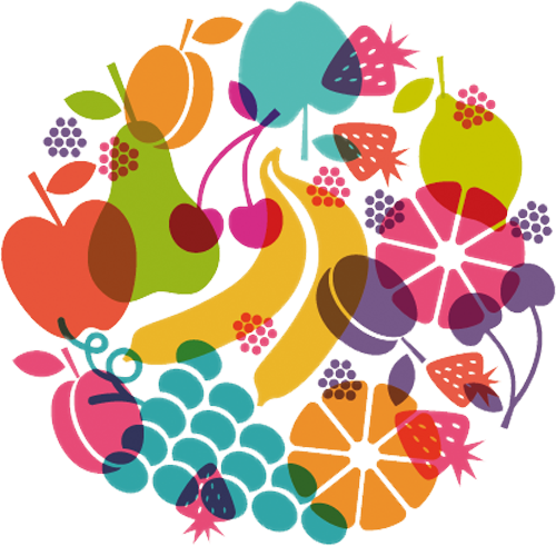Наклейка «Фруктовый сад»Для кухни, столовой<br>Цветная интерьерная наклейка на виниле. Яркая и красивая! Можно сделать любой размер. Трехслойная надежная упаковка. Доставим в любую точку России.<br>