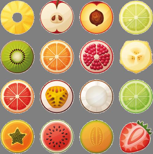 Наклейка «Изобилие фруктов»Для кухни, столовой<br><br>