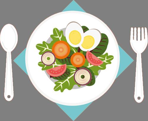 Наклейка «Полезное блюдо»Для кухни, столовой<br><br>