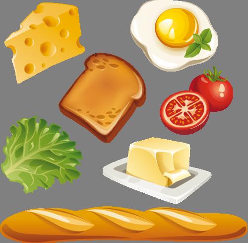 Наклейка «Набор для завтрака»Для кухни, столовой<br><br>