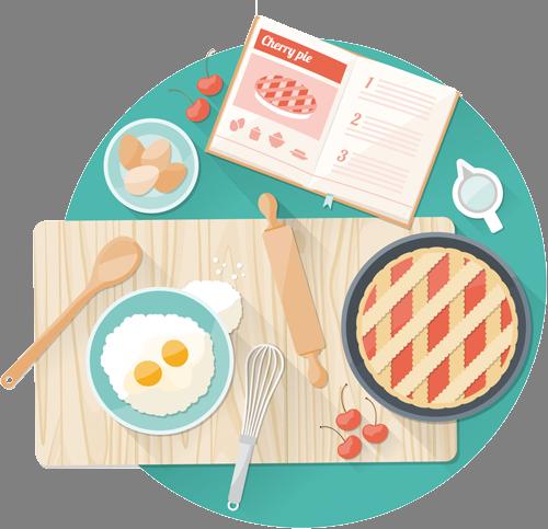 Наклейка «Готовка»Для кухни, столовой<br><br>
