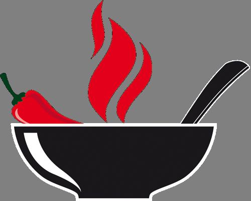 Наклейка «Чили кон карне»Для кухни, столовой<br><br>