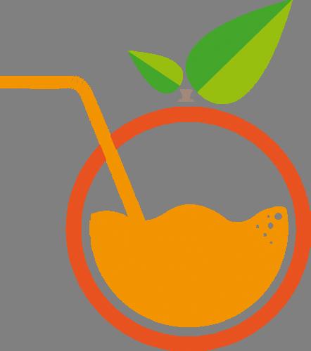 Наклейка «Апельсиновый сок»Для кухни, столовой<br><br>