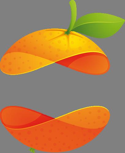 Наклейка «Апельсиновая цедра»Для кухни, столовой<br><br>