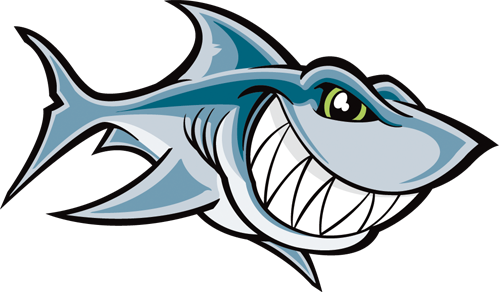 Наклейка «Акула»