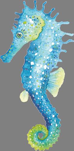 Наклейка «Морской конёк»
