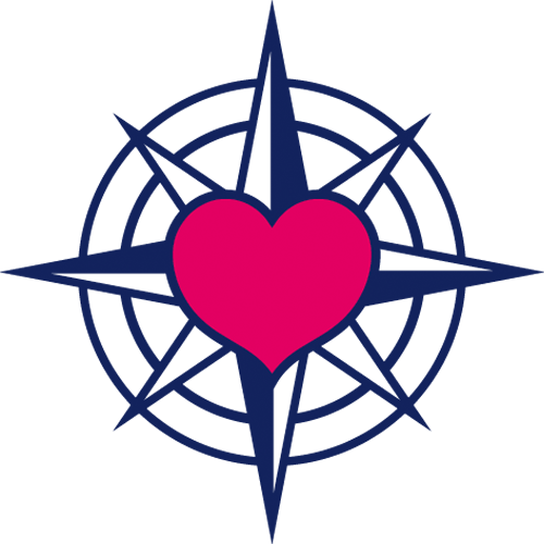 Наклейка «Сердце моряка»