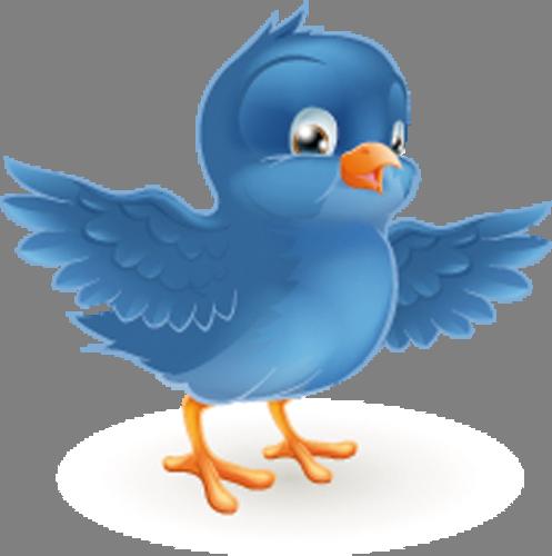 Наклейка «Синяя птичка»Животные и птицы<br><br>