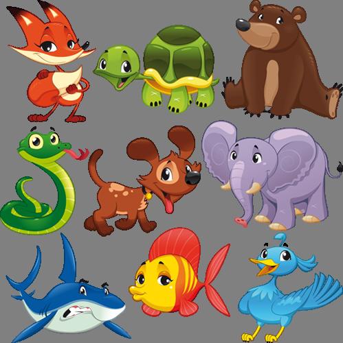 Наклейка «Животные»Животные и птицы<br><br>