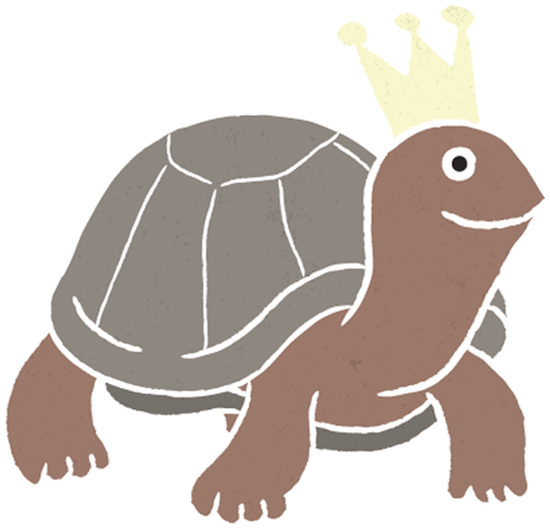 Наклейка «Черепах с короной»Животные и птицы<br><br>
