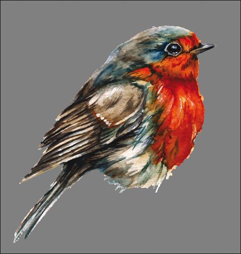 Наклейка «Воробей»Животные и птицы<br><br>