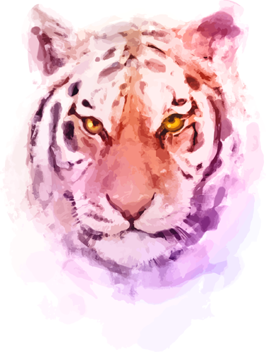 Наклейка «Грозный тигр»Животные и птицы<br><br>