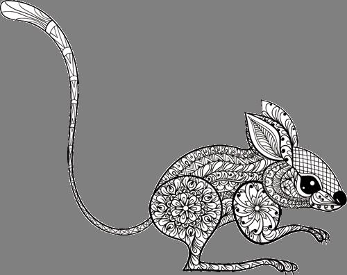 Наклейка «Мышка»Животные и птицы<br>Цветная интерьерная наклейка на виниле. Яркая и красивая! Можно сделать любой размер. Трехслойная надежная упаковка. Доставим в любую точку России.<br>