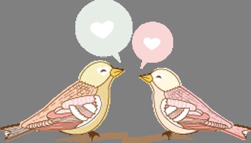 Наклейка «Птицы и любовь»Любовь<br>Цветная интерьерная наклейка на виниле. Яркая и красивая! Можно сделать любой размер. Трехслойная надежная упаковка. Доставим в любую точку России.<br>