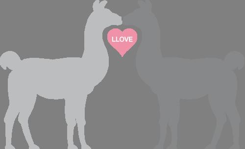 Наклейка «Влюлённые животные»Любовь<br><br>