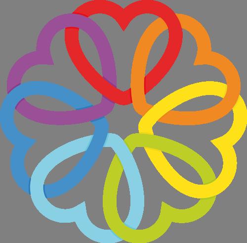 Наклейка «Круг из сердец»Любовь<br>Цветная интерьерная наклейка на виниле. Яркая и красивая! Можно сделать любой размер. Трехслойная надежная упаковка. Доставим в любую точку России.<br>