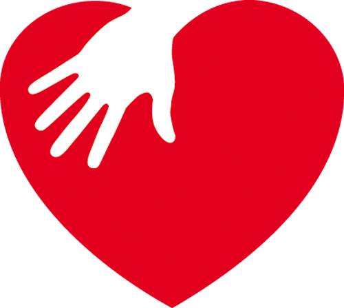 Наклейка «Рука на сердце»Любовь<br><br>