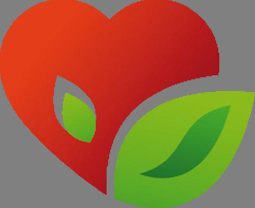 Наклейка «Сердце-фрукт»Любовь<br><br>