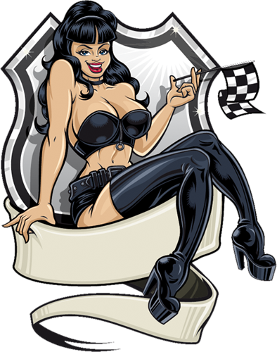 Наклейка «Девушка в чёрном»Люди<br>Цветная интерьерная наклейка на виниле. Яркая и красивая! Можно сделать любой размер. Трехслойная надежная упаковка. Доставим в любую точку России.<br>