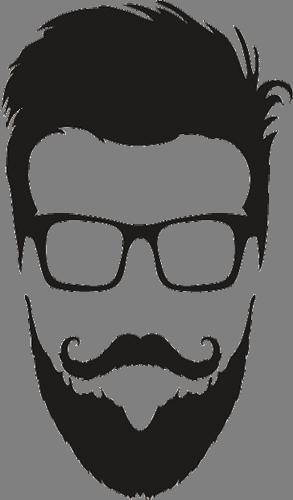 Наклейка «Парень в очках»Люди<br><br>
