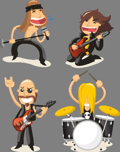 Наклейка «Рок-группа»Люди<br><br>