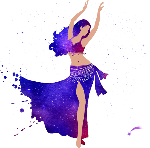 Наклейка «Восточная танцовщица»Люди<br><br>