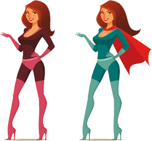 Наклейка «Супергёрл»Люди<br>Цветная интерьерная наклейка на виниле. Яркая и красивая! Можно сделать любой размер. Трехслойная надежная упаковка. Доставим в любую точку России.<br>