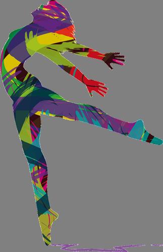Наклейка «Танцовщица»Люди<br>Цветная интерьерная наклейка на виниле. Яркая и красивая! Можно сделать любой размер. Трехслойная надежная упаковка. Доставим в любую точку России.<br>