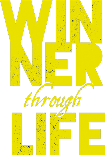 Наклейка «Победитель по жизни»Надписи<br><br>