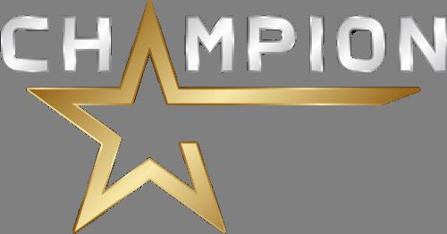 Наклейка «Чемпион»Надписи<br><br>