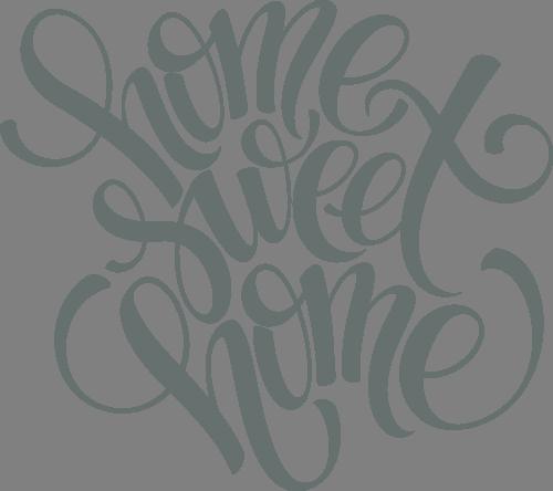 Наклейка «Дом,милый дом»Надписи<br><br>