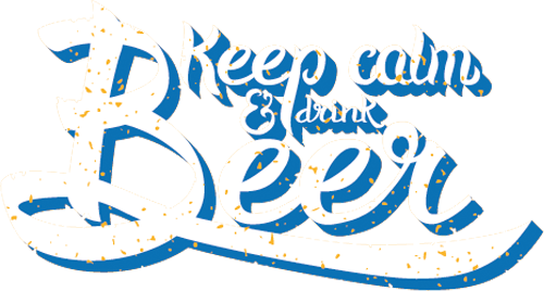Наклейка «Любителям пива»Надписи<br><br>