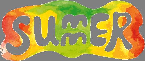 Наклейка «Лето»Надписи<br><br>