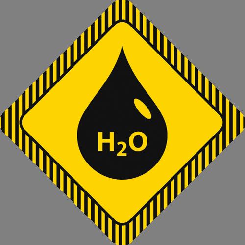 Наклейка «Формула воды»Надписи<br><br>