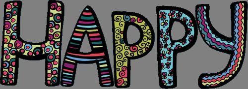 Наклейка «Счастье»