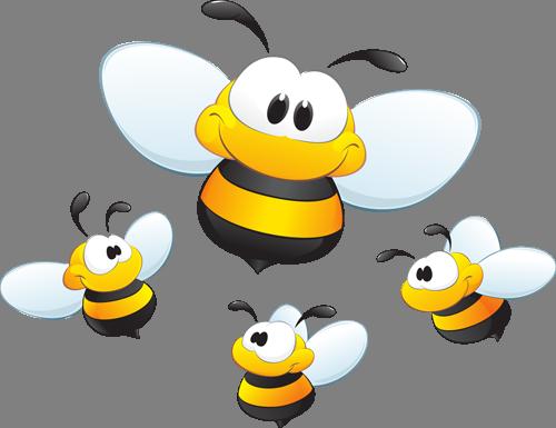 Наклейка «Пчёлки»Насекомые<br><br>