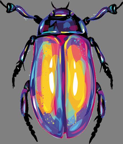 Наклейка «Майский жук»Насекомые<br><br>