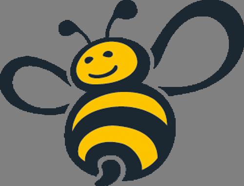 Наклейка «Весёлая пчёлка»Насекомые<br>Цветная интерьерная наклейка на виниле. Яркая и красивая! Можно сделать любой размер. Трехслойная надежная упаковка. Доставим в любую точку России.<br>