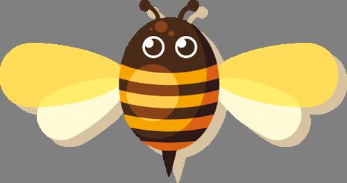 Наклейка «Солнечная пчёлка»Насекомые<br><br>