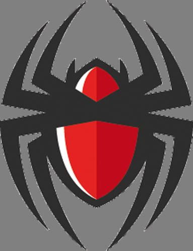 Наклейка «Красный паук»Насекомые<br><br>