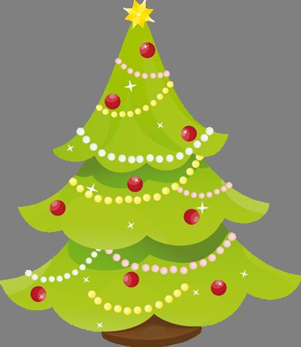 Наклейка «Сияющая ёлочка»Новогодние<br><br>