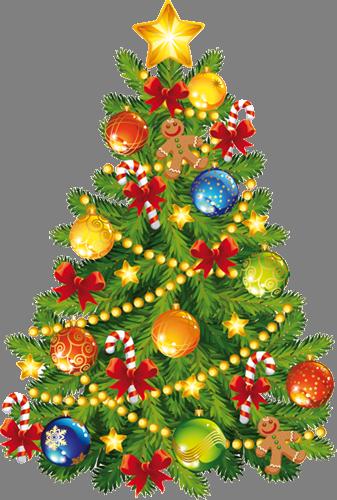 Наклейка «Пушистая ёлочка»Новогодние<br>Цветная интерьерная наклейка на виниле. Яркая и красивая! Можно сделать любой размер. Трехслойная надежная упаковка. Доставим в любую точку России.<br>