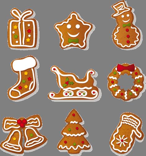 Наклейка «Новогоднее печенье»Новогодние<br><br>