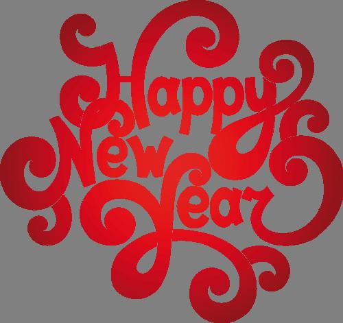 Наклейка «С Новым годом»Новогодние<br><br>