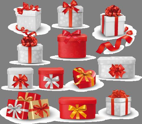 Наклейка «Коробки с подарками»Новогодние<br><br>