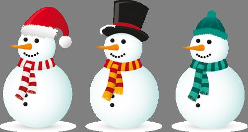 Наклейка «Три снеговика»Новогодние<br><br>