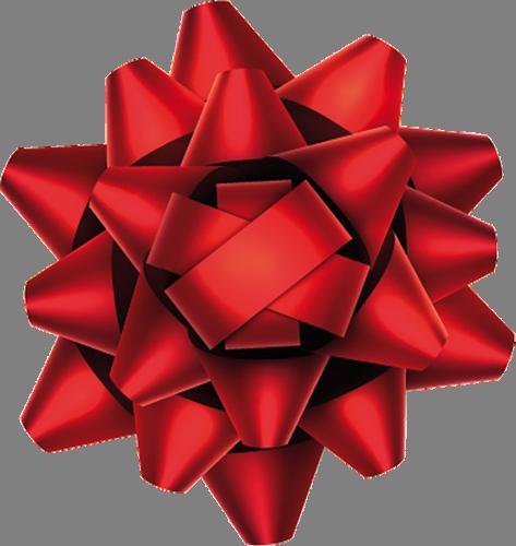Наклейка «Подарочная лента»Новогодние<br><br>