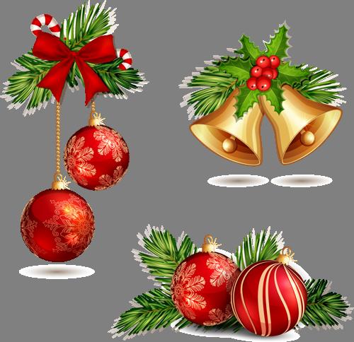 Наклейка «Ёлочные украшения»Новогодние<br><br>