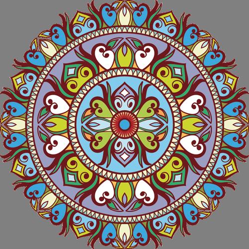 Наклейка «Орнамент-тарелка»Орнаменты<br><br>